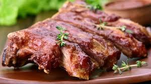 A melhor costelinha de porco no forno