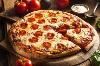 Receita de massa de pizza deliciosa