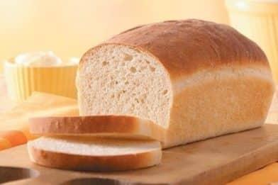 Pão caseiro simples e delicioso