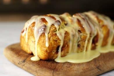 Pão doce caseiro simples e fácil