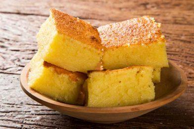 Delicioso e prático bolo de milho de espiga