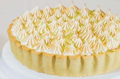 Deliciosa torta de limão prática