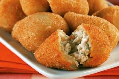 Receita de coxinha de batata deliciosa