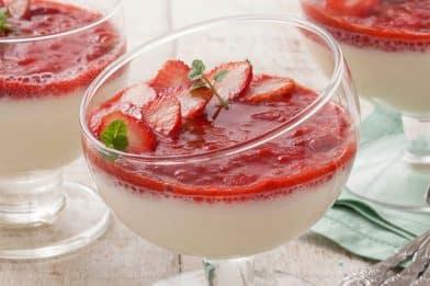 Receita prática de gelatina com leite condensado