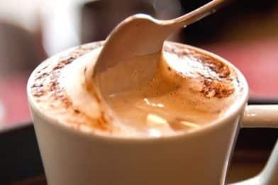 Cappuccino caseiro muito gostoso