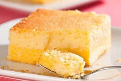 O melhor bolo de milho cremoso com leite condensado