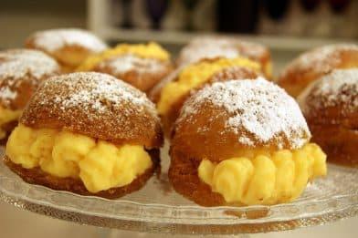 Receita de sonho de padaria
