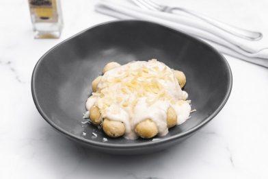 Molho branco com queijo fácil